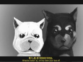 Slightly Bad Dogs by JianzZ