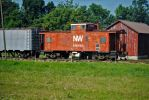 former NW caboose by wolvesone