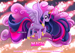 Equestria Elements serie-Princess Twilight - Magic by Nekoi-Echizen