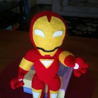 Amigurumi Iron Man by jelc85