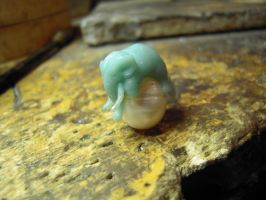elephant and porcelain by Debals