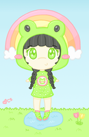Lily Frog by Cupcake-Kitty-chan