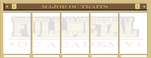 Major OC Traits Template by Bitter-Cherry