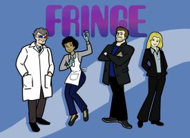 Saturday Mornings on FRINGE by ComickerGirl
