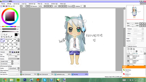 First Tablet Drawing . : WIP : . by Fabulettie