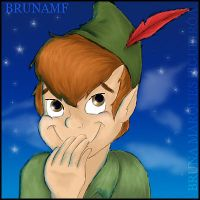 Peter Pan Tee-Hee Quilt by Brunamf
