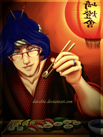 KOU: Quieres sushi? by Dai-Elric