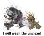 I Will Wash the Unclean! by PlumpOrange