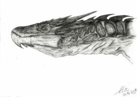 Smaug The Magnificent (updated version) by dragonhunter2323
