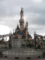 Disneyland Paris - Castle -8- by Maliciarosnoir-stock