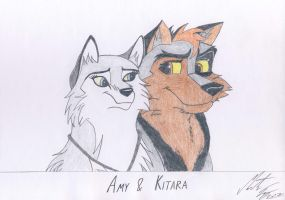Kitara and Amy by MortenEng21