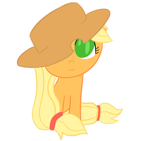 Chibi AppleJack by ExplainableChaos