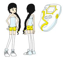 My new oc Digimon Frontier by Phuong09