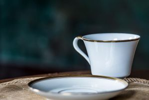 Howey Mansion-Cup ans Saucer by 904PhotoPhactory