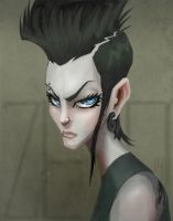 The Girl with the Dragon Tattoo by zeoarts