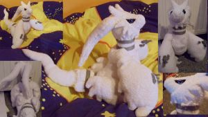 Reshiram plush toy pokemon by shadowhatesomochao