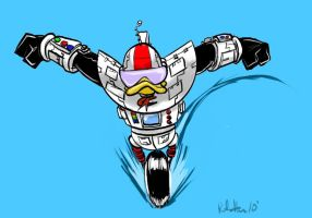 Gizmo Duck by Peter-Hon