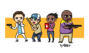 L4D2_Survivors by aulauly7