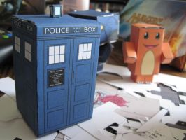 tardis cubeecraft by captaincupcake