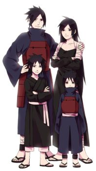 madara's family by DaiKai