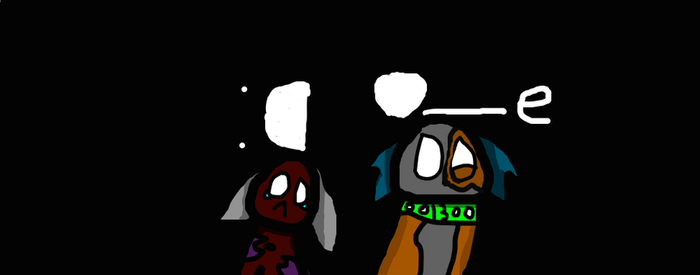 Reaction to creepypasta by cantemailpics