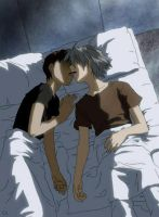 Kaworu Shinji Kiss 2 by reith-iv