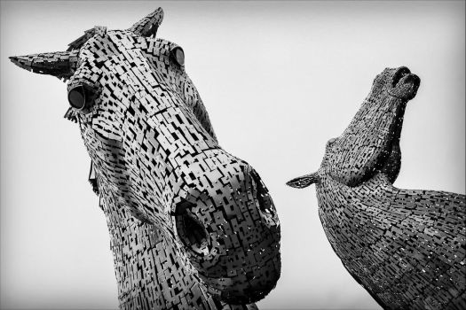 The Kelpies by Daniel-Wales-Images