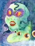 Mesmerize (Water Colour without Indian Ink) by Tabascofanatikerin