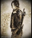 Daryl Dixon  - The walking dead season 5 -Try by zelldinchit