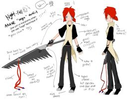 """Akane """"rage"""" reference by night-fell"""
