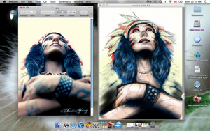 Progress- Linda Perry by underneath-the-paint
