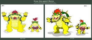 Koopas Before and After by Koopa-Master