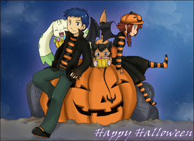 :: Happy Halloween :: by HikaruJen