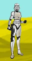 Female Stormtrooper by LadyIlona1984