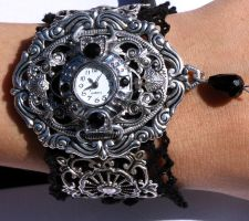 Steampunk Silver color Watches by Pinkabsinthe