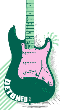 grunge guitar by selphy