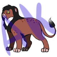 Lion Adopt 1 [Open] by AgenderedKing