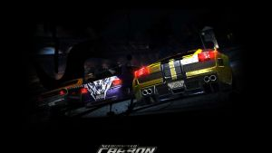 NFS Carbon Wallpaper by AndroniX