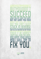 Fix You - Typography by A7mdo92