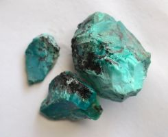 Chrysocolla Rough by lamorth-the-seeker