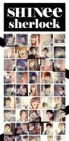 SHINee Sherlock mv iconpack 50 by e11ie