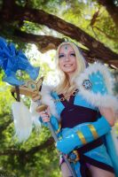 DotA 2 - Crystal Maiden - Secret smile by MilliganVick