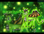Neon the Dragon wallpaper set by BlueMario1016