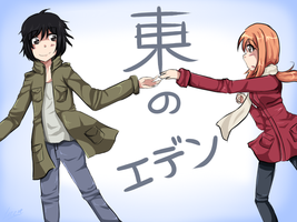Eden of the East by watermelon-clock