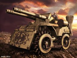 Steampunk Tank Final1 by BenCole