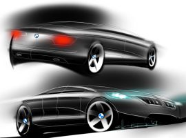 BMW sketches by p-sketch