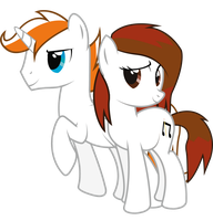 Melody Sketch and Lightning by Spectty