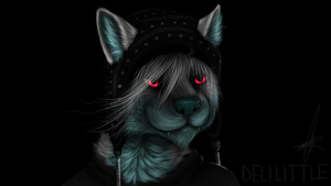Benji With A Hat by delilittle