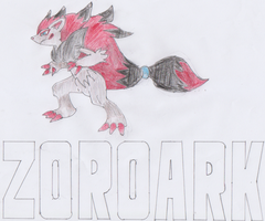 It's Zoroark... by TheLupineOne