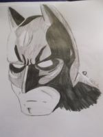 Daily Sketch Challenge - Batman by spot1the2dog3